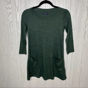 Abercrombie And Fitch green sweater